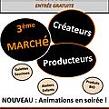 Planning marchés du printemps 2013