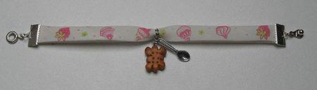 bracelet gateaux gourmands