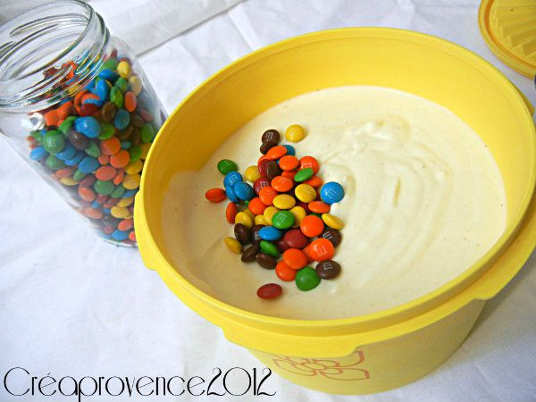 glace m&m's