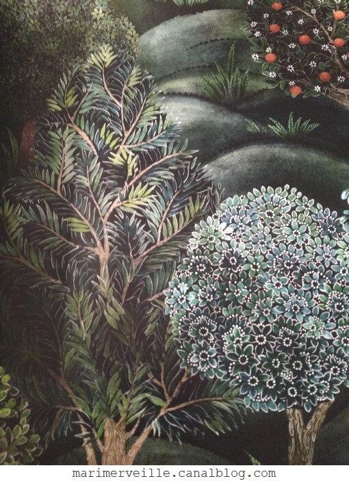 Papier peint forest Au Fil des Couleurs - paris - blog marimerveille