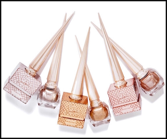 christian louboutin metalinudes laques ongles