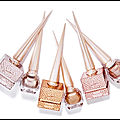 Laque ongles goldissima - laque ongles preciosa - laque ongles irisa - collection les metalinudes - christian louboutin