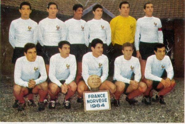 11 novembre 1964 FRANCE NORVEGE