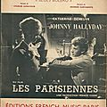 Retiens la nuit - johnny hallyday (partition sheet music)