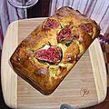 Cake aux figues et au fromage de chèvre (les enfants en cuisine)