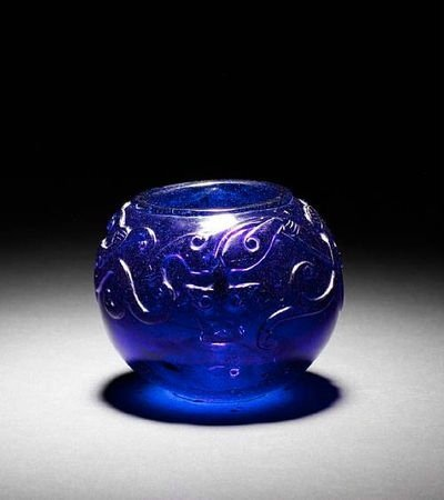 A Peking Glass water pot, 18th century. Photo Bonhams