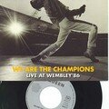 Queen We are the champions 7' vinyl France 1992