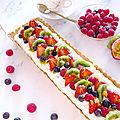 〰️ ❤️ ✨ tarte aux fruits rouges et à la crème diplomate ❤️ ✨ 〰️