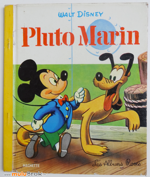 PLUTO-marin-1-Albums-Roses-muluBrok-livres-anciens