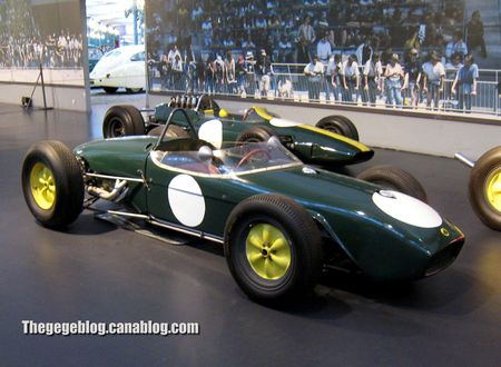 Lotus F1 type 33 monoplace de 1963 (Cité de l'Automobile Collection Schlumpf à Mulhouse) 01