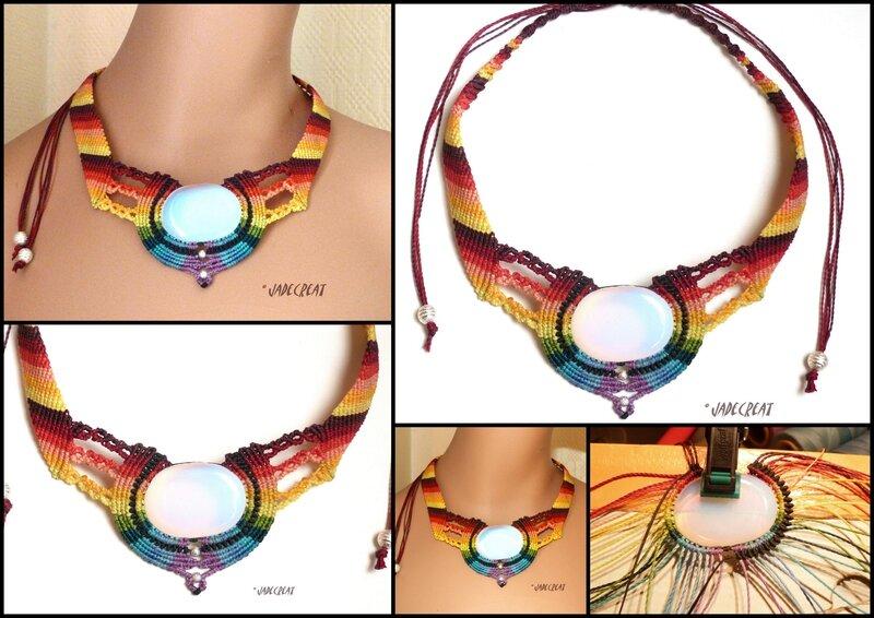 REF C 0168 multicolore opale banche