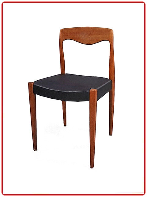 chaise scandinave Niels O'Moller teck