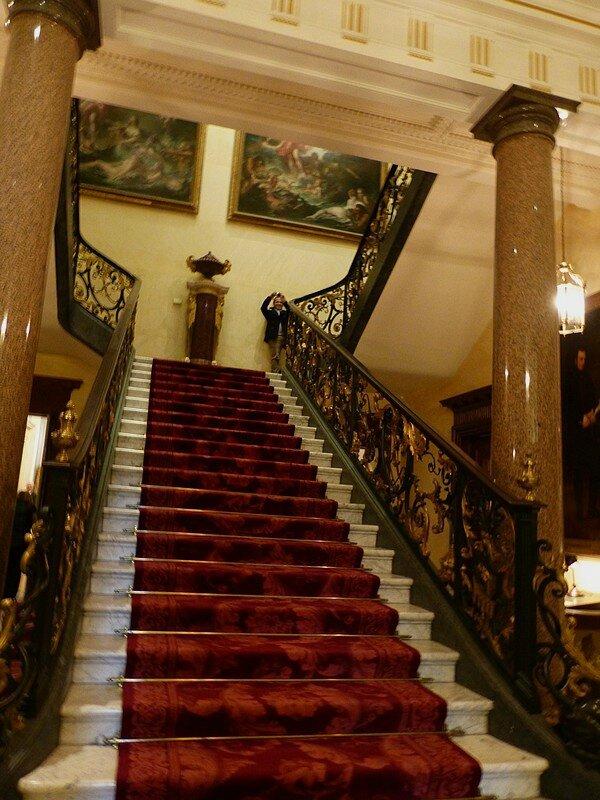 Les escaliers de la W Collection