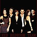 Red bedroom team