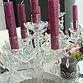 Nuit des anges décoratrice de mariage décoration de table féérique romantique 011