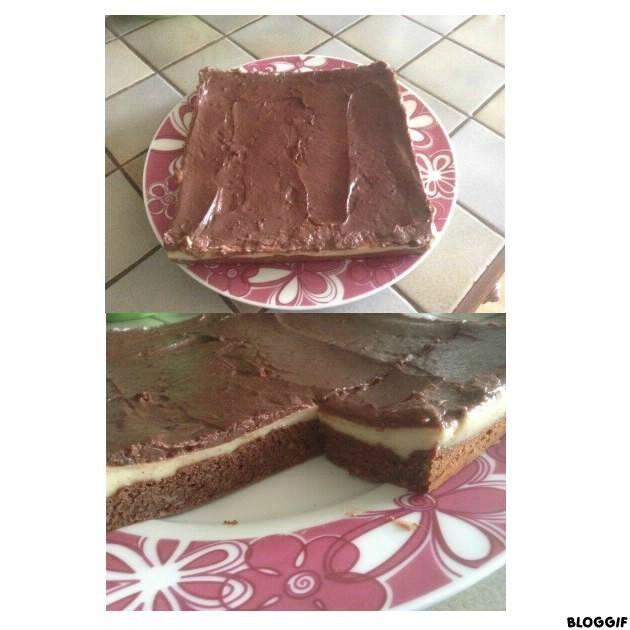 Carré de chocolat à la crème vanille PP