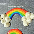 { everything rainbow is beautiful ! } macaron arc- en-ciel pour la journée du macaron