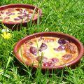 Gratin cerises au vinaigre balsamique