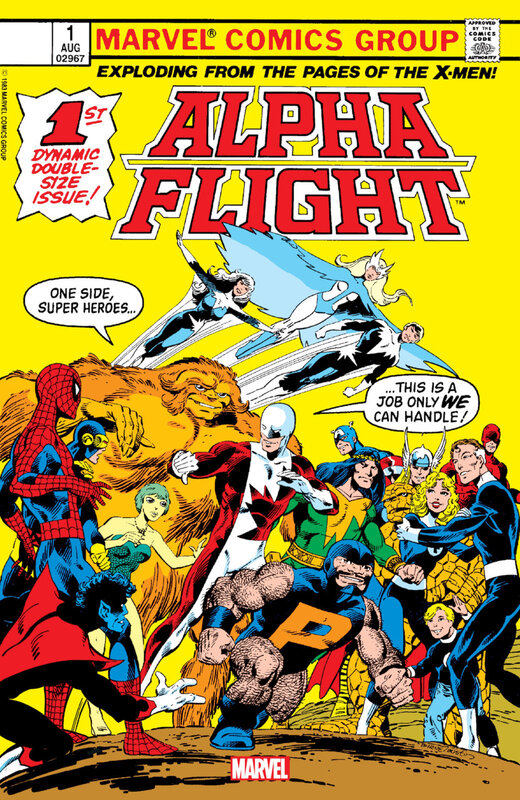 alpha flight 001 facsimile 2019