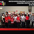 CICMIT16 - MATCH INTER À LA CSP 03-03-15