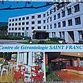 Nans les pins - centre St François datée 2001