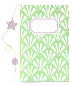 notebook small pocket green 2