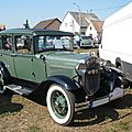 Ford model a town sedan 1930