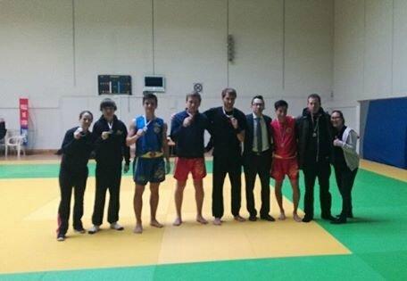 Equipe Combat Qingda du Sansao
