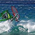 L'entraînement windsurf !...