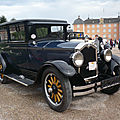 Buick model 20 standard six five-passenger sedan 1927