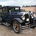Buick model 20 standard six five-passenger sedan 1927