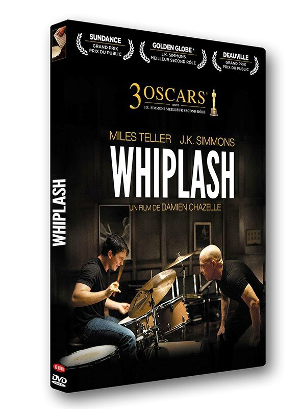 3D Whiplash DVD