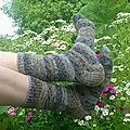 Ma première paire de chaussettes