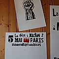 Déplacement à paris pour la grande manifestation du 5 mai