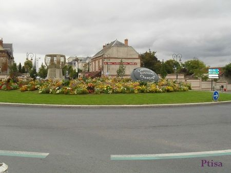 Epernay rond point du champagne