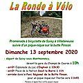 La ronde à vélo en vallée de montmorency le dimanche 13 septembre 2020
