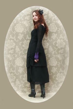 belle dame sans merci et mitaines violettes maureen