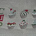 Sal lilipoints #2 (cupcakes de noël)