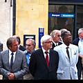 Cérémonie de libération de Bergerac