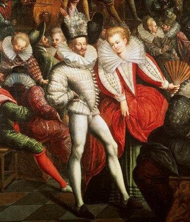 Bal à la cour des Valois