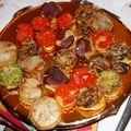 Mon menu de noël, suite: les photos des plats manquants avant les recettes!!!!