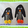 Nos pingouins