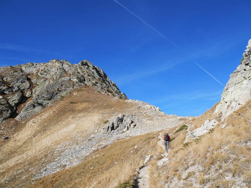 Col des Ayes, 2477m