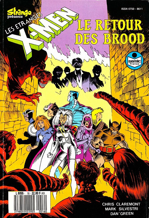 semic étranges x-men 16 le retour des brood