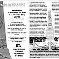 Cérémonie du 11 novembre à nogent-le-roi, vacheresses-les-basses, lormaye