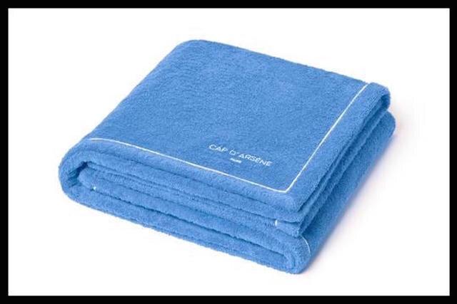 cap d arsene serviette cobalt