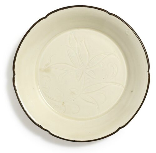 A 'Ding' 'Lotus' Lobed Bowl, Northern Song Dynasty