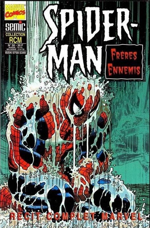 semic RCM 50 spiderman frères ennemis