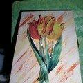 boite clefs tulipes