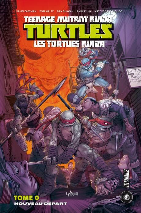 hicomics tortues ninja 00 nouveau départ
